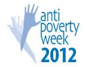 anti-poverty week 2012