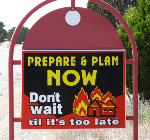 fire prepare sign cropped