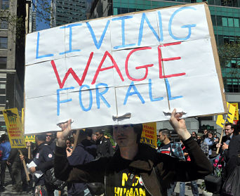 living wage for all opt