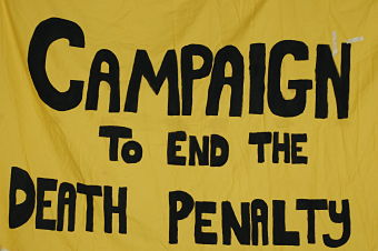 death penalty poster