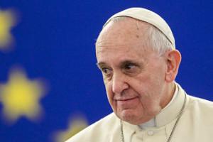 pope askance