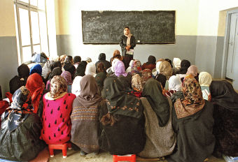 afghanistan girls education