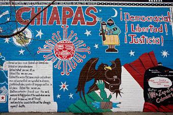 zapatista mural
