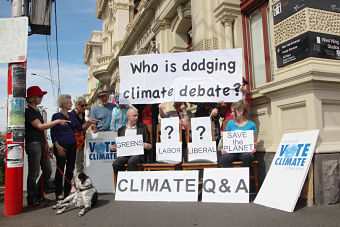 politicians on climate