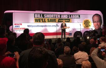 bill shorten campaigning