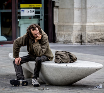 homeless man 2