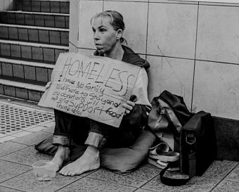 homeless-woman
